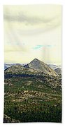 Mount Starr King Beach Towel