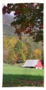 Mountain Barn Beach Towel
