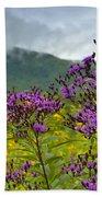 Mountain Butterfly  Beach Towel