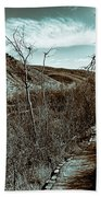 Mountain Creek Path-sundance Utah V3 Beach Towel