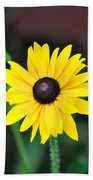 Mountain Daisy Yellow Beach Towel