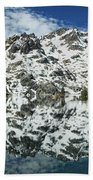 Mountain In The Mirror Beach Towel