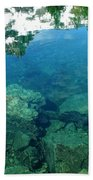 Mountain Lagoon Beach Towel