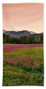 Mountain Meadow Color Beach Towel