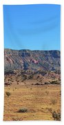 Mountain Over The Plains Beach Towel