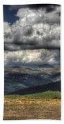 Mountain Panorama Beach Towel