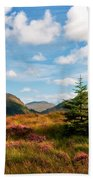 Mountain Pastoral. Rest And Be Thankful. Scotland Beach Towel