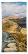 Mountain Path Beach Towel
