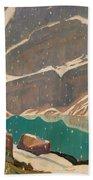 Mountain Solitude Beach Towel