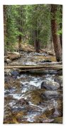 Colorado Mountain Stream 2 Beach Towel