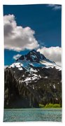 Mountain View Beach Towel by Robert Bales