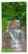 Mountain Waterfall II Beach Towel