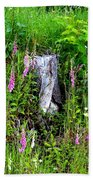 Mountain Wildflowers Beach Towel