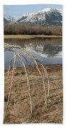 Aboriginal Sacred Sweat Lodge - Waterton Lakes Nat. Park, Alberta Beach Towel