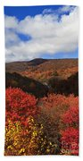 Mountains At Graveyard Fields Beach Towel