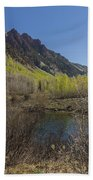 Mountains Co Sievers 3 Beach Towel