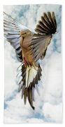 Mourning Dove Beach Towel