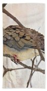 Mourning Dove - Sing No Sad Song For Me #2 Beach Towel