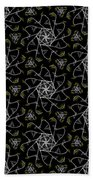 Mourning Weave Beach Towel