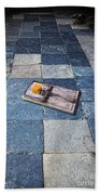 Mouse Trap With Cheese. Beach Towel