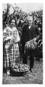 Mr. And Mrs. Luther Burbank Beach Towel