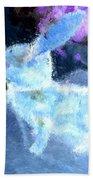 Mr. Blue Bunny Beach Towel