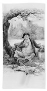 Mr Pickwick, From Charles Dickens A Beach Towel