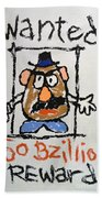 Mr. Potato Head Gone Bad Beach Towel