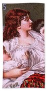 Mrs Winslow's Soothing Syrup Beach Towel