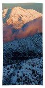 Mt Adams Sunset Beach Towel