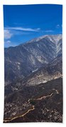 Mt. Baldy Beach Towel
