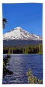 Trillium Lake II Beach Towel