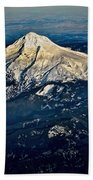 Mt Hood Beach Towel