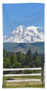 Mt. Rainier Beach Towel