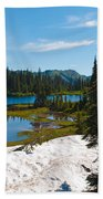 Mt. Rainier Wilderness Beach Towel