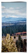 Mt. Spokane Beach Towel