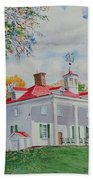 Mt. Vernon In The Fall Beach Towel
