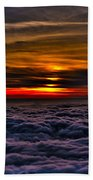 Mt Wilson Sunset 2 Beach Towel