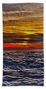 Mt Wilson Sunset Beach Towel