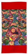 Much More Than A Face - A Joy Of Design Series Compilation Beach Towel