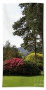 Muckross Garden In Spring Beach Towel