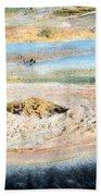 Mud Geyser Yellowstone Np 1928 Beach Towel