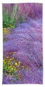 Muhly Grass In The Morning Beach Towel