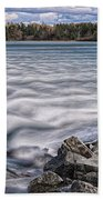 Mulholland Point Lighthouse Beach Towel