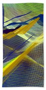Multicolor Mesh Beach Towel