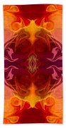 Multilayered Realities Abstract Pattern Artwork By Omaste Witkow Beach Towel