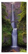 Multnomah Falls - Columbia River Gorge - Oregon Beach Towel