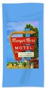 Munger Moss Motel Beach Towel