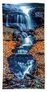 Munising Falls I Beach Towel