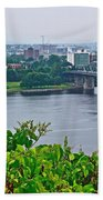 Museum Of Civilization Across The Ottawa River In Gatineau-qc Beach Towel